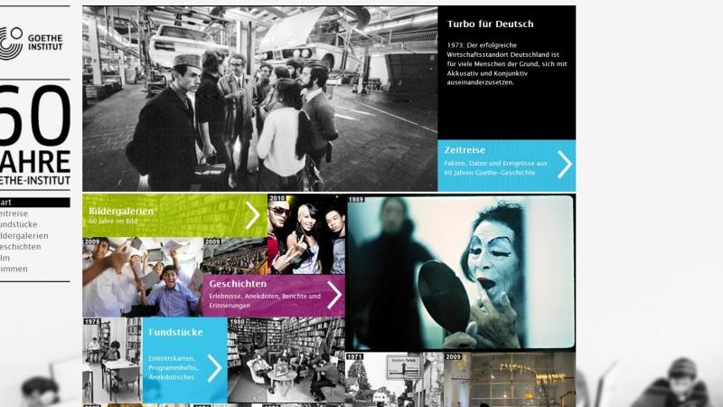 60 Jahre Goethe-Institut – eineZeitreise