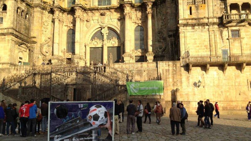 GOOOL! – Das Tor nach Deutschland . Finale in Santiago deCompostela