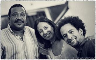 Manuel Machado, Rocío Plúas & Yuvisney Aguilar